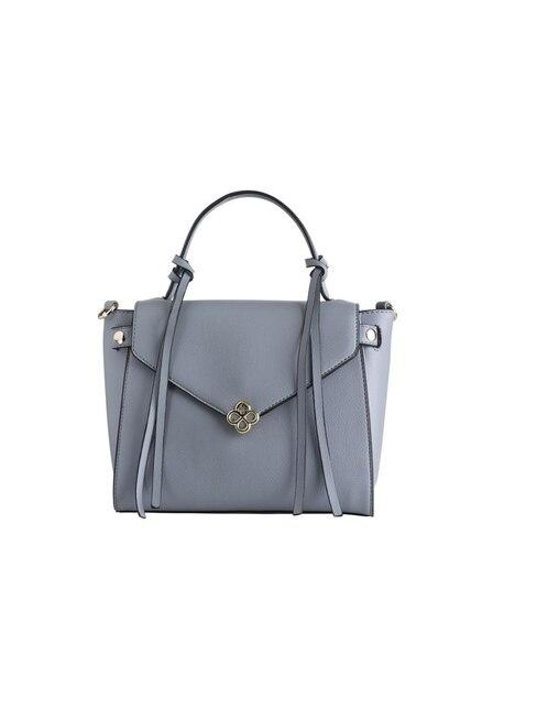 90126157a Bolsa satchel Jaime Ibiza broche efecto piel