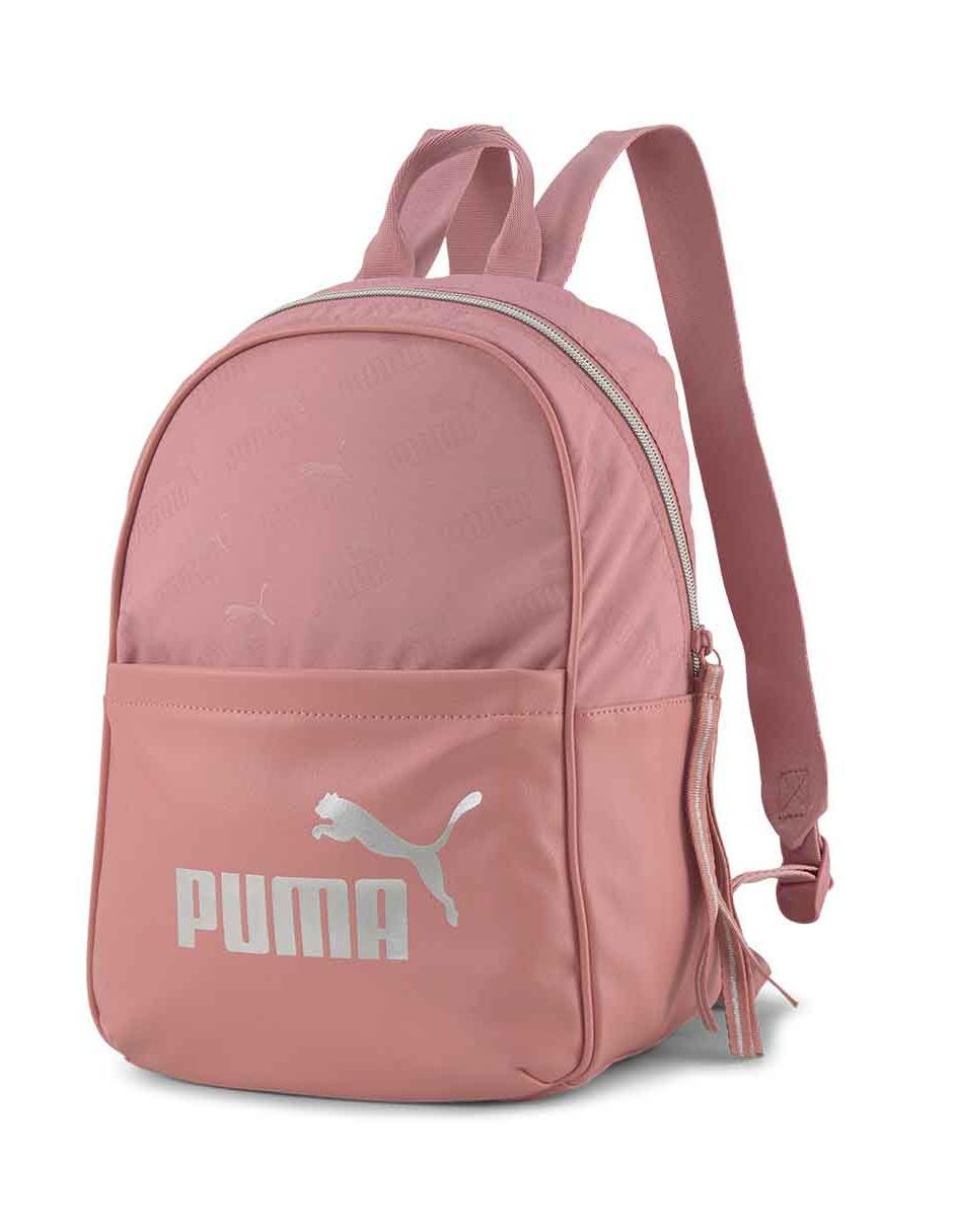 Subir papelería valor  Mochila Puma rosa con logotipo en Liverpool
